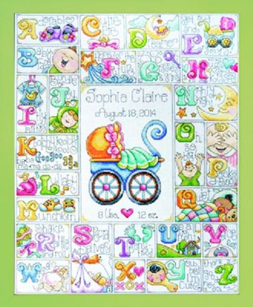 Special Delivery Cross Stitch Kit